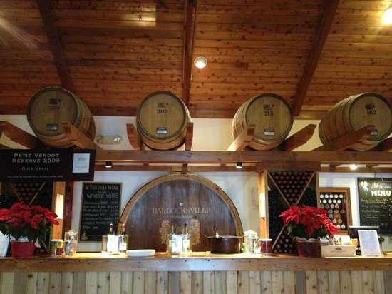 Barboursville Vineyards and Historic Ruins:                   Tasting Room