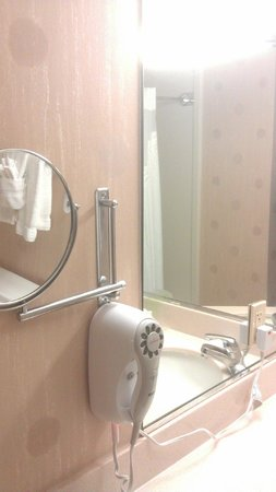 Holiday Inn San Francisco Fishermans Wharf:                   Magnifying shaving mirror
