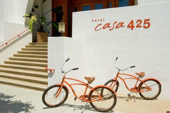 Hotel Casa 425: Front Entrance