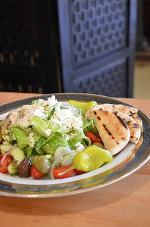 Windy Ridge Cafe: Greek Salad
