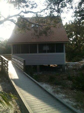 St. Joseph Peninsula State Park:                   Cabin #6