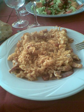 La Vega:                   arroz a la zamorana