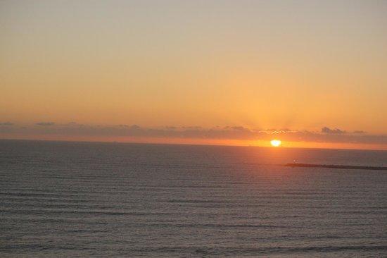 Garden Court South Beach:                   Sunrise from the 12th floor