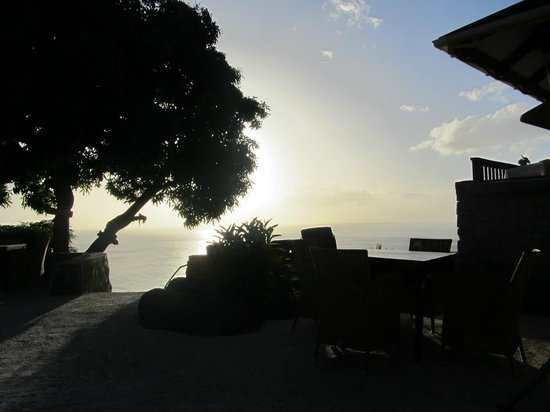 The Mango Tree: Sunset view from the Pool deck