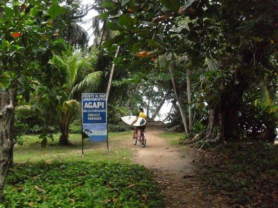 Agapi hotel 800 Metros Sur de Puerto Viejo Costa Rica