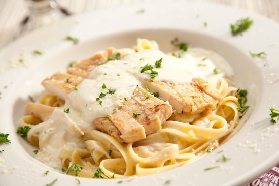 South Jordan, UT: Chicken Fettuccine Alfredo Pasta