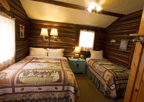 The Log Cabin Motel: Fishing Cabin
