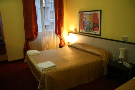 Hotel Lugano: Hotel double Room