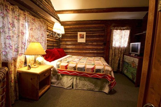 The Log Cabin Motel: Log cabin