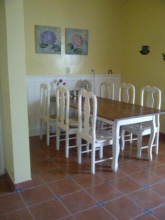 Bed and Breakfast Villa Riviera:                   Eethoek