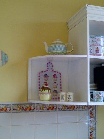 Bed and Breakfast Villa Riviera:                   Leuk detail in de keuken