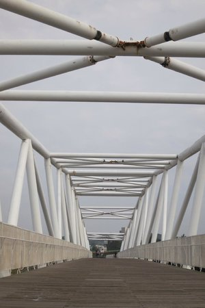 17 Km Bicycle Path:                   Bridge