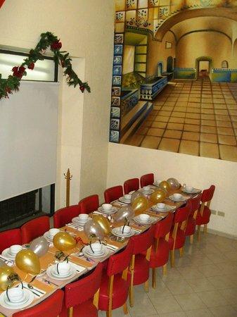 Hotel Casa de Oracion San Jose: montaje especial diciembre