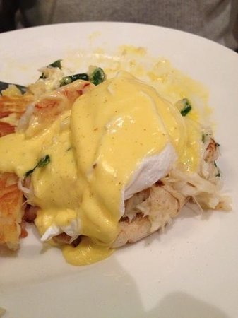Tulalip Resort Casino:                   Dungeness Crab Benedict at the Cedars