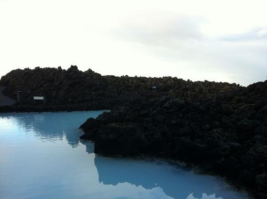 Blue Lagoon Iceland: View just before the entrance