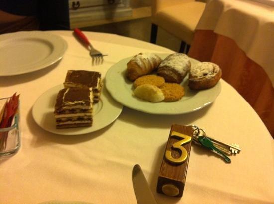 Hotel De Mohac:                   colazione