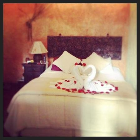 D'Leyenda Hotel:                                     our room on Valentine's day 2013