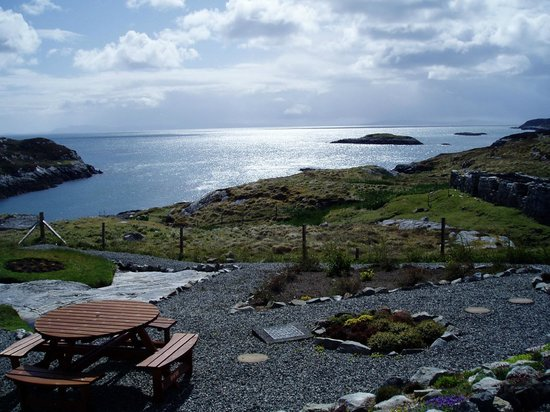 Tigh an Eilein:                                     View from our room