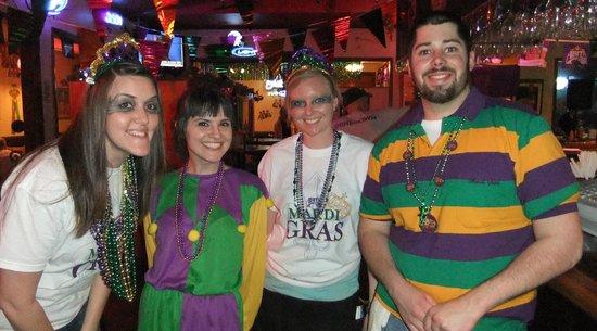 Bayou Smokehouse & Grill: Happy Mardi Gras!