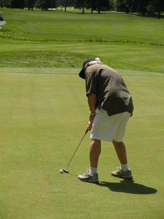 Whistler Golf Club:                   Greens in good shape..husband in golf heaven!