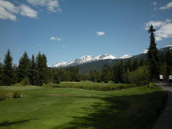 Whistler Golf Club:                   Again, beautiful scenery!