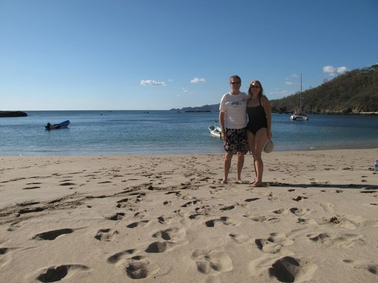 Spanish Ya:                   An excursion by boat to isolated Playa Blanca