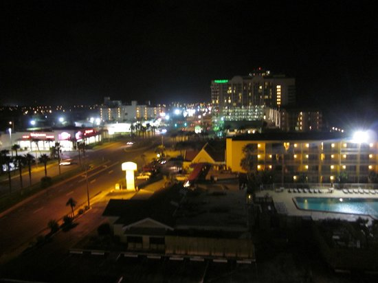 LaPlaya Resort: View from room at night