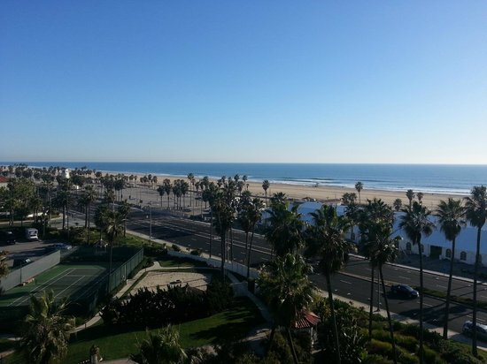 The Waterfront Beach Resort, A Hilton Hotel:                   A true SoCal view!