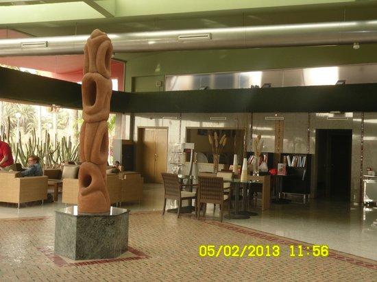 Dunas Maspalomas Resort:                   Eingangsbereich -Rezeption
