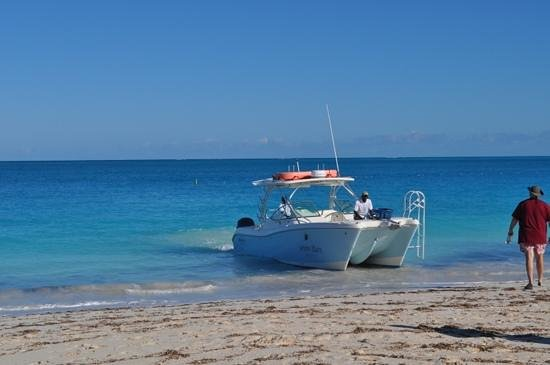 Seven Stars Resort:                   Boat Excursion beach pick up