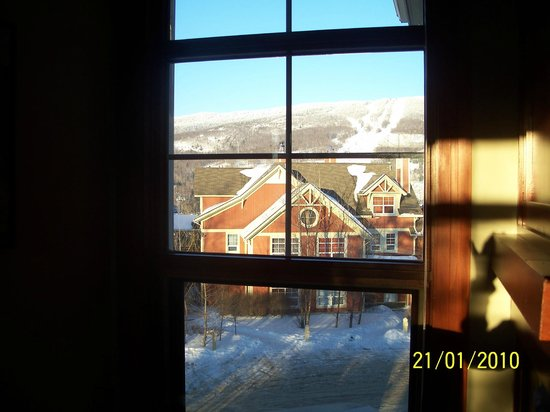 Tremblant Sunstar Condominiums:                   Winter afternoon view
