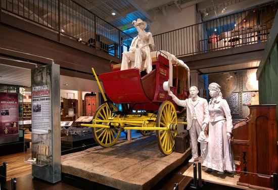 Park City Museum: Kimball Brothers Stagecoach