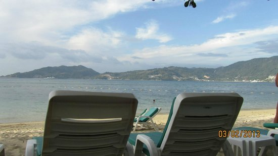 Tri Trang Beach Resort:                   Private Beach