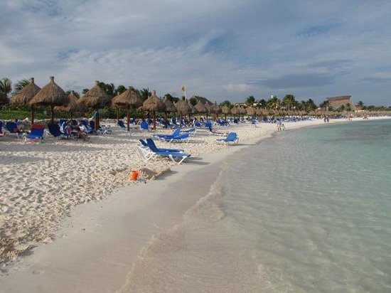 Grand Bahia Principe Tulum:                   Beach