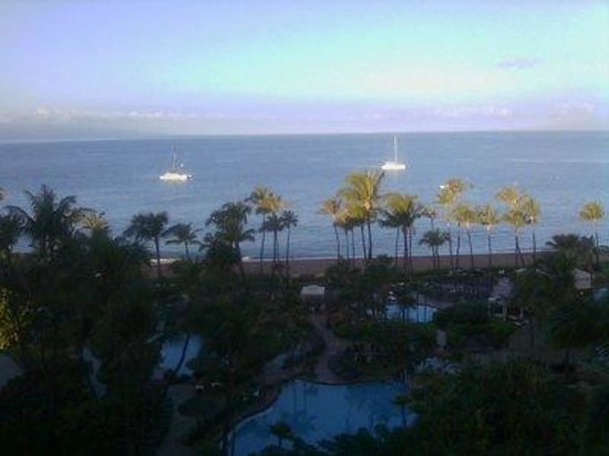 The Westin Maui Resort & Spa:                   View from our room