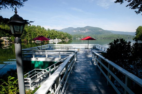 The Lodge on Lake Lure: Boathouse