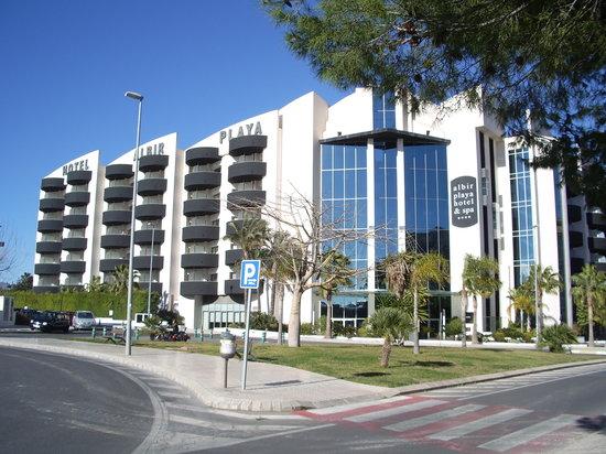Albir Playa Hotel & Spa: vistas de el hotel