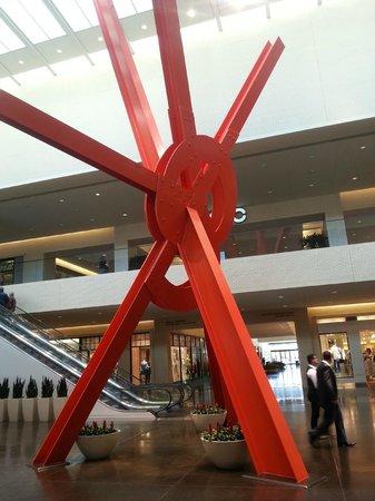 NorthPark Center:                   Detalhes escultura ou estrutura?