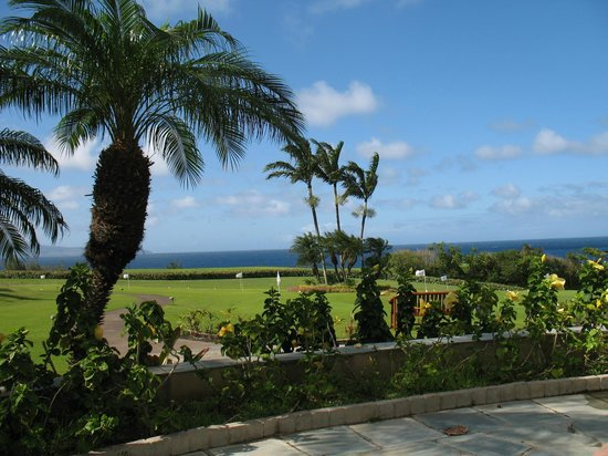 The Ritz-Carlton, Kapalua: Looking across hotel grounds.