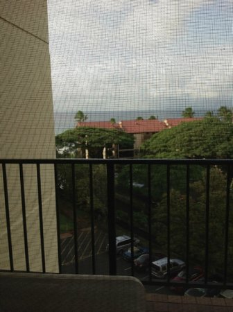 Aston Kaanapali Shores:                                     View from Room 718