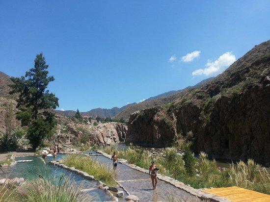 Hotel & Spa Termas Cacheuta:                   Aire libre