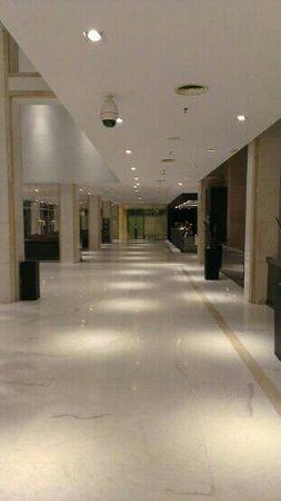 Melia Sitges:                   ingang hotel