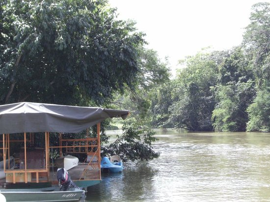 Black Orchid Restaurant:                                     Right on the River