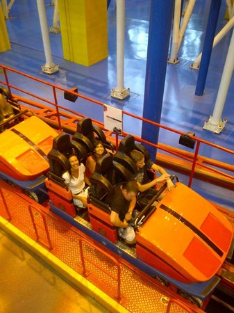 West Edmonton Mall:                   Roller Coaster inside the Mall.