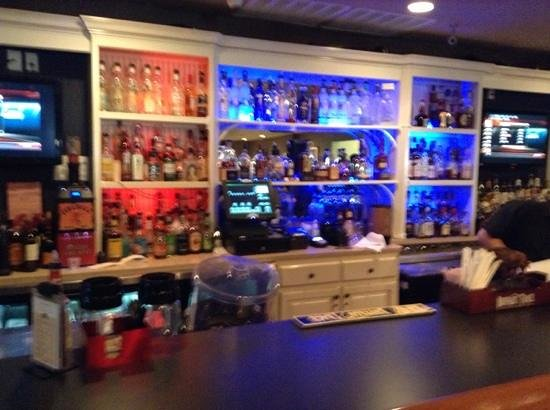 Bourbon City Bistro:                   bar.