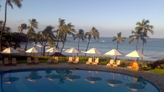 Mauna Kea Beach Hotel, Autograph Collection: Not a huge pool... but a good one.