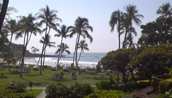 Mauna Kea Beach Hotel, Autograph Collection: View from Plumeria Beach Club room