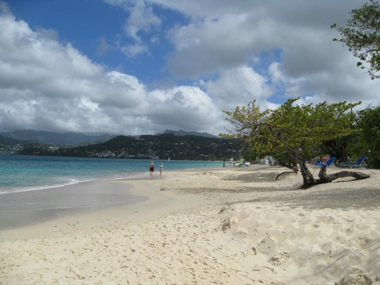 Spice Island Beach Resort:                   Great Anse beach
