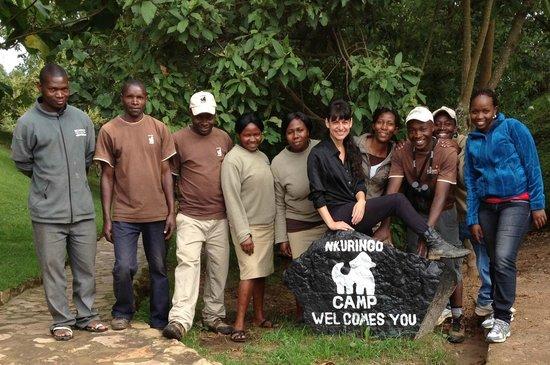 Nkuringo Bwindi Gorilla Lodge:                   Nkuringo Staff