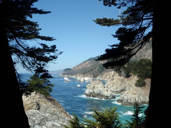 Julia Pfeiffer Burns State Park: View from campsite no. 1